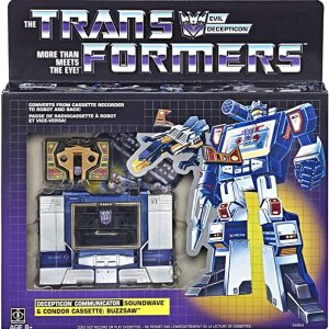 Transformers Soundwave (G1 – Reissue)